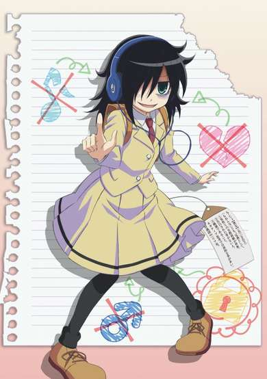 WataMote: No Matter How I Look At It